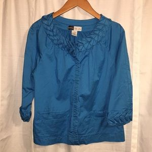 Simply Chloe Dao size large blue blazer